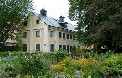 Director's Lodge, The Linnaeus Garden, Uppsala university