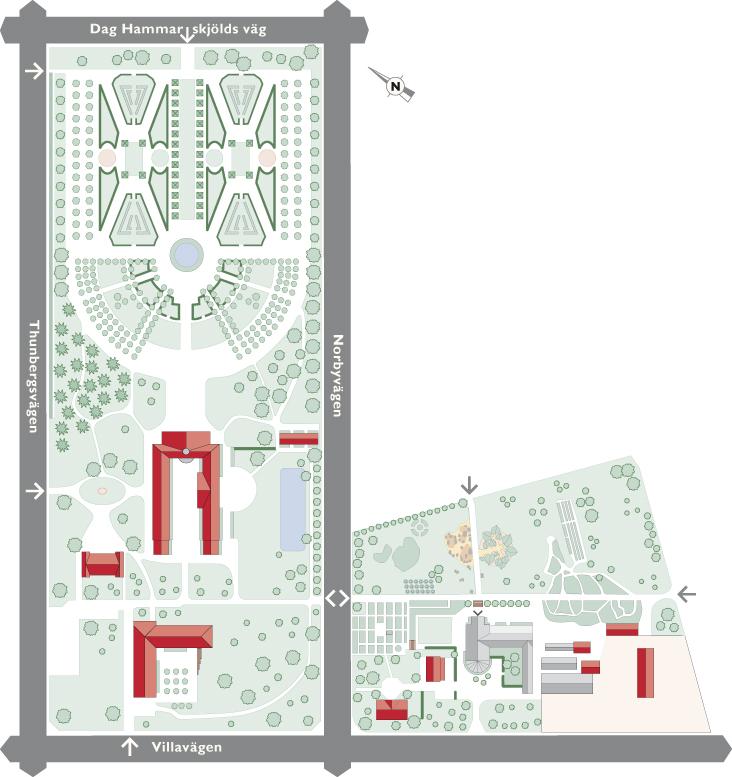 Botaniska Tradgarden Uppsala Karta Karta 2020