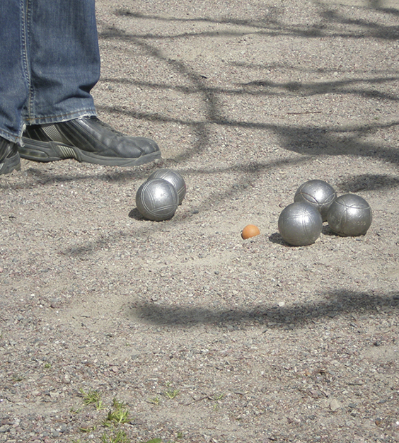 Boules in the Baroque Garden