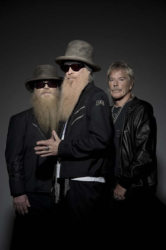 ZZ Top in the Botanical Garden